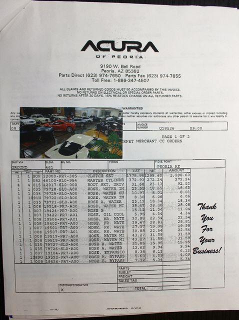 1992 Acura NSX Sport La Jolla, Califorina  68