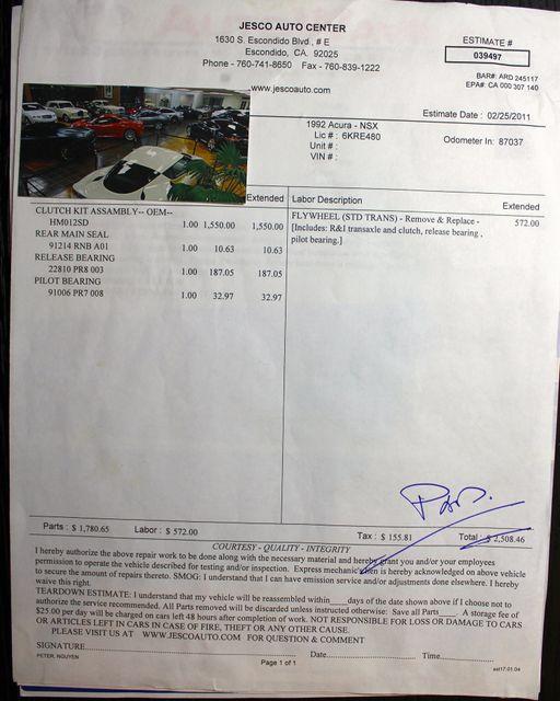 1992 Acura NSX Sport La Jolla, Califorina  69