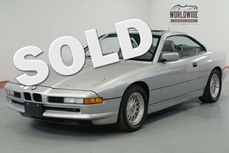 1992 BMW 850I TWO OWNER! COLLECTOR GRADE. 79K MILES. DOCS! | Denver, CO | Worldwide Vintage Autos