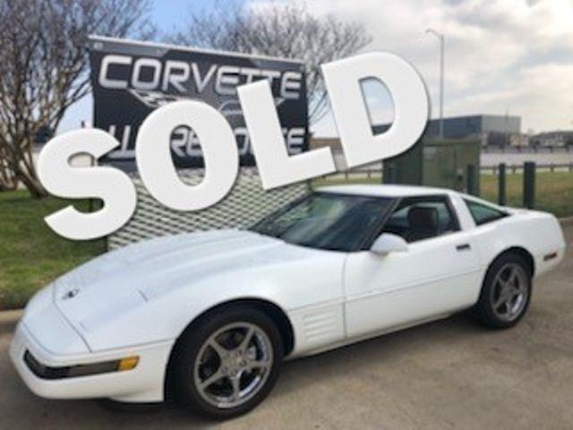 1992 Chevrolet Corvette Coupe Auto, Ride Control, JVC CD, Chromes only 54k | Dallas, Texas | Corvette Warehouse  in Dallas Texas