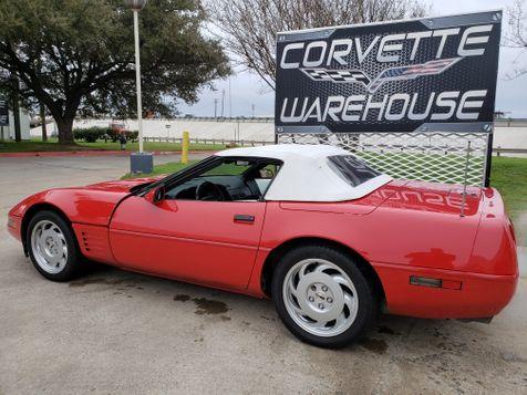 1992 Chevrolet Corvette Convertible Auto, Pioneer Radio, Only 42k! | Dallas, Texas | Corvette Warehouse  in Dallas, Texas