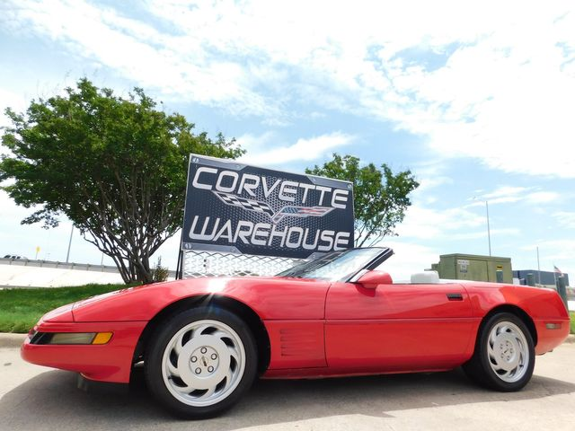 1992 Chevrolet Corvette Convertible Auto, Pioneer Radio, Only 42k in Dallas, Texas 75220