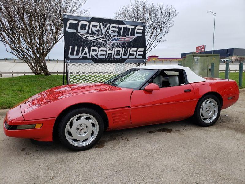 1992 Chevrolet Corvette Convertible Auto, Pioneer Radio, Only 42k! | Dallas, Texas | Corvette Warehouse