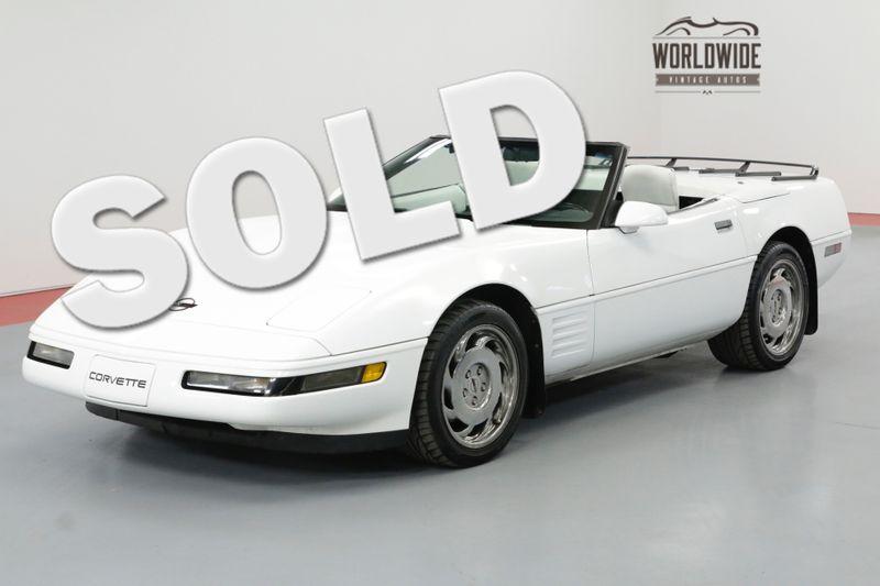 1992 Chevrolet CORVETTE CONVERTIBLE, 6-SPEED C4 GENERATION CORVETTE | Denver, CO | Worldwide Vintage Autos