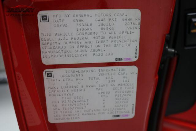 1992 Chevrolet Corvette Merrillville, Indiana 41