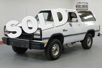 1992 Dodge Ram Charger in Denver CO