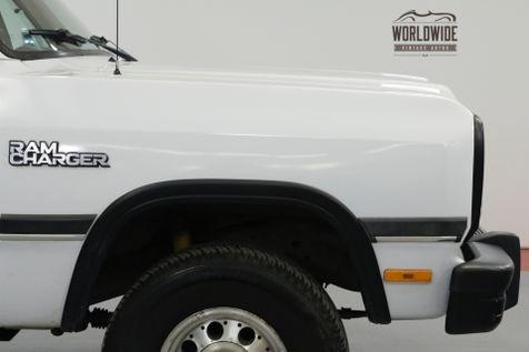 1992 Dodge Ram Charger AW150  | Denver, CO | Worldwide Vintage Autos in Denver, CO