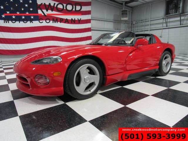 1992 Dodge Viper RT-10 First Gen 285 Red Low Miles 1 Owner Rare