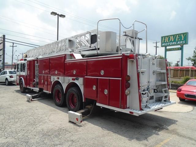 1992 E-One /Hush Qunit 110FT LADDER /PUMPER 4DR HURRICANE San Antonio, Texas 4