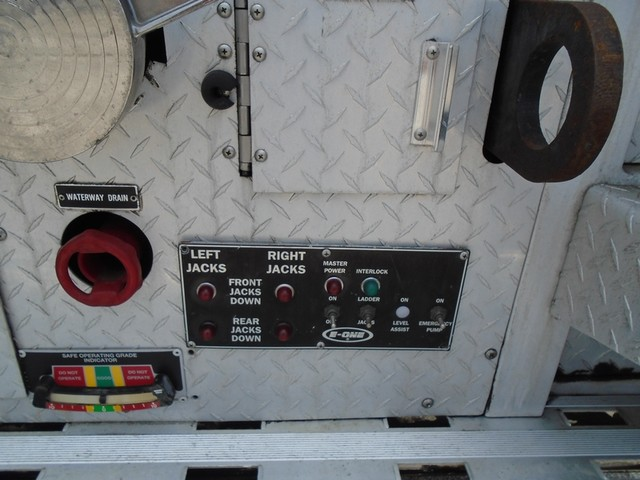 1992 E-One /Hush Qunit 110FT LADDER /PUMPER 4DR HURRICANE San Antonio, Texas 30
