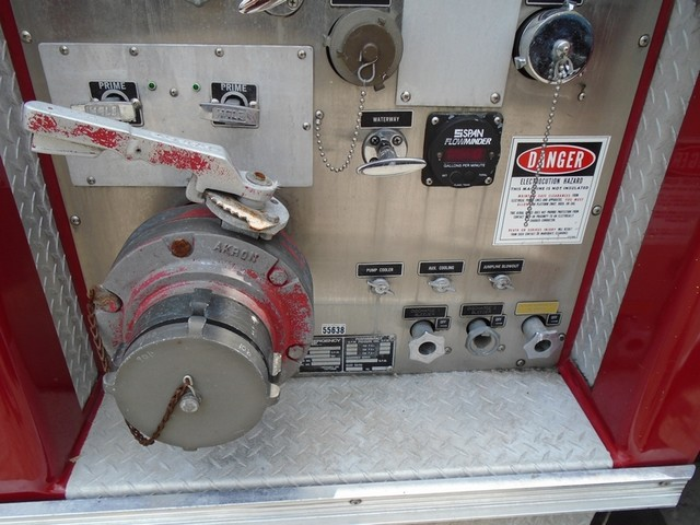 1992 E-One /Hush Qunit 110FT LADDER /PUMPER 4DR HURRICANE San Antonio, Texas 34
