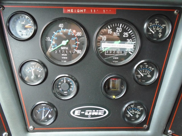 1992 E-One /Hush Qunit 110FT LADDER /PUMPER 4DR HURRICANE Boerne, Texas 14