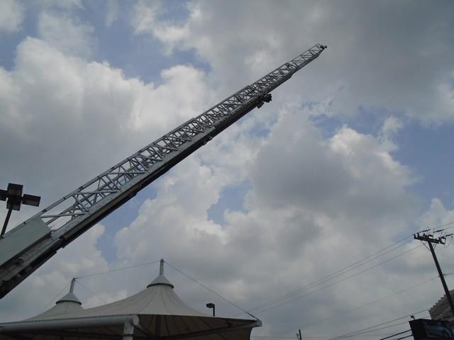 1992 E-One /Hush Qunit 110FT LADDER /PUMPER 4DR HURRICANE San Antonio, Texas 61