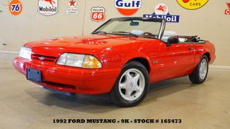 1992 Ford Mustang LX Sport Convertible 5.0L,AUTO,PWR TOP,LEATHER,9K in Carrollton, TX 75006