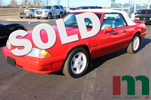 1992 Ford Mustang LX 5.0 Feature Car | Granite City, Illinois | MasterCars Company Inc. in Granite City Illinois