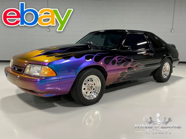 1992 Ford Mustang Lx 5.0l 5-SPD SUPERCHARGED 88K ORIGINAL MILES MINT in Woodbury, New Jersey 08096