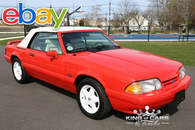 1992 Ford Mustang Lx Summer EDITION CONVERTIBLE 16K ACTUAL MILES MINT