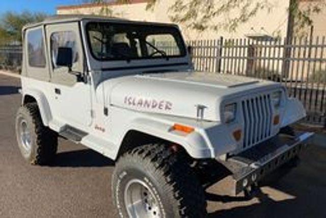 1992 Jeep Wrangler Islander