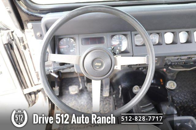 """1992 Jeep Wrangler """"S"""" in Austin, TX 78745"""