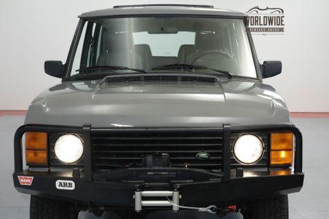 1992 Land Rover RANGE ROVER HEAVILY MAINTAINED! CUSTOM. V8 AUTO AC. | Denver, CO | Worldwide Vintage Autos in Denver, CO