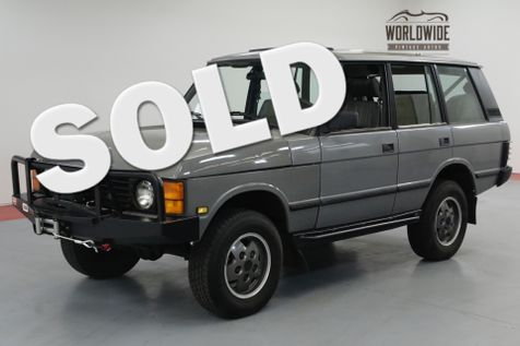 1992 Land Rover RANGE ROVER HEAVILY MAINTAINED! CUSTOM. V8 AUTO AC. | Denver, CO | Worldwide Vintage Autos in Denver, CO