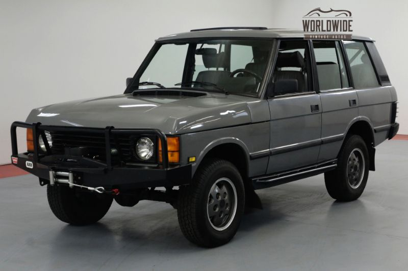 1992 Land Rover RANGE ROVER HEAVILY MAINTAINED! CUSTOM. V8 AUTO AC. | Denver, CO | Worldwide Vintage Autos
