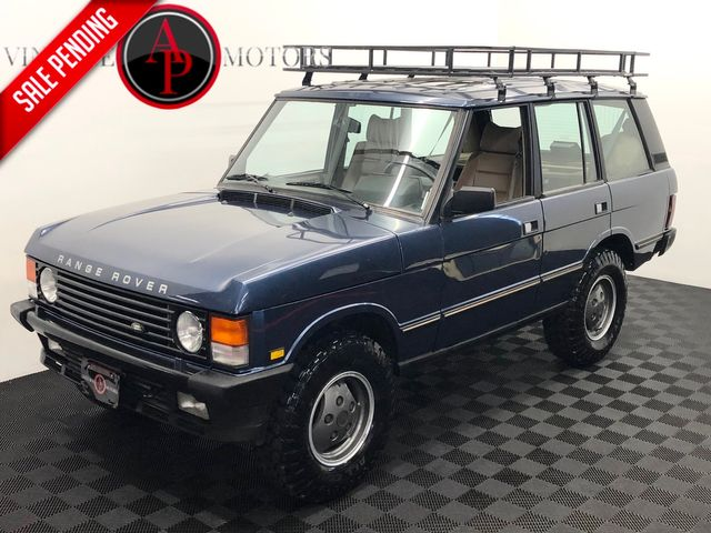 1992 Land Rover Range Rover COUNTY V8 AUTO ROOF RACK