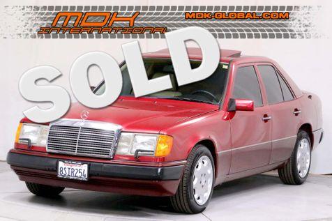 1992 Mercedes-Benz 300 Series 300E - 3.0L I6 - Sunroof - California Car in Los Angeles