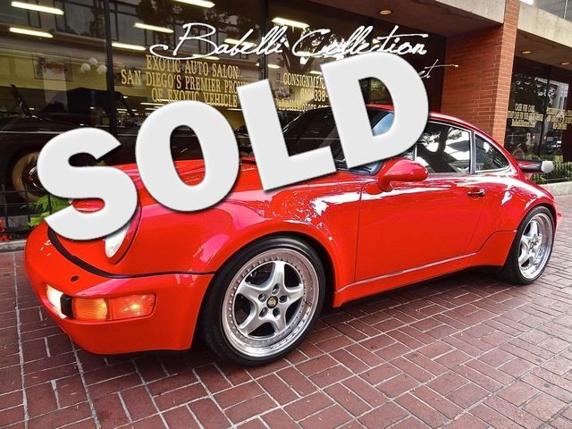 1992 Porsche 911 Turbo Lease 60-84 Month Income & Sales Tax Savings San Diego, California 0