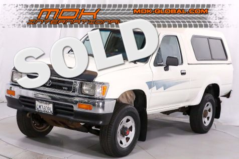 1992 Toyota 4WD Pickups DLX - Manual - 4WD - 3.0L V6 - California car in Los Angeles