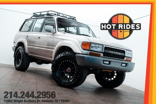 1992 Toyota Land Cruiser LS Swapped Lifted $50k In Upgrades
