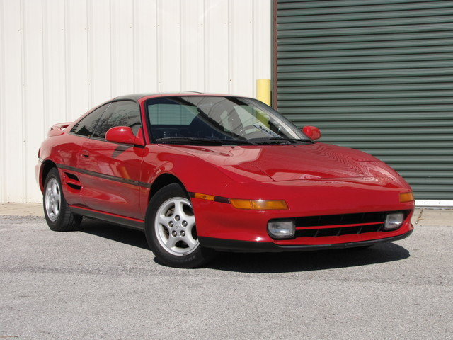 1992 Toyota MR2 TURBO Jacksonville , FL 3