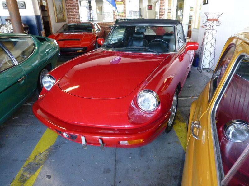 1993 Alfa Romeo Spider Veloce  city MA  European Motorsports  in Lawrence, MA