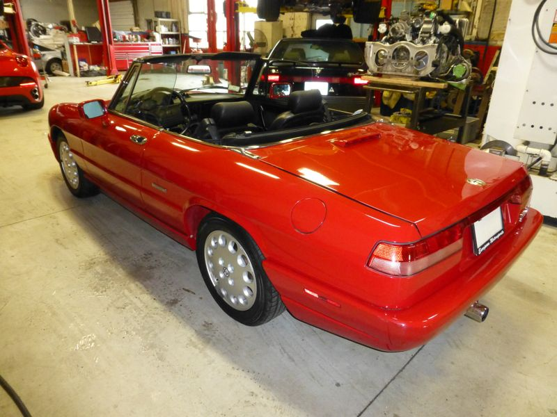 1993 Alfa Romeo Spider Veloce  city MA  European Motorsports  in Lawrence, MA