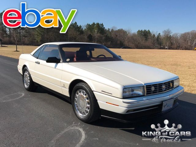 1993 Cadillac Allante 1-Owner ONLY 33K MILES MINT HARD & SOFT TOP MINT