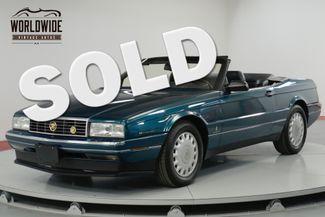 1993 Cadillac ALLANTE  POWER EVERYTHING CONVERTIBLE    Denver, CO   Worldwide Vintage Autos in Denver CO