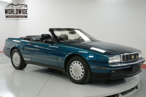 1993 Cadillac ALLANTE  POWER EVERYTHING CONVERTIBLE  | Denver, CO | Worldwide Vintage Autos in Denver, CO