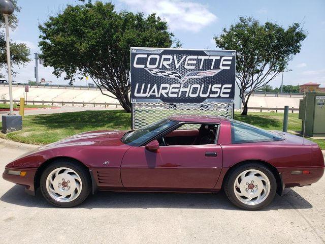 1993 Chevrolet Corvette Coupe 40th Anniversary Showpiece, Auto, Only 13k in Dallas, Texas 75220