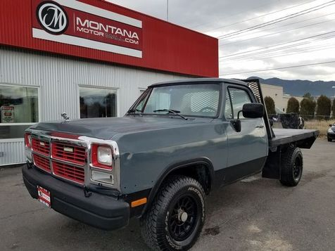 1993 Dodge D150 & W150 Reg. Cab 8-ft. Bed 4WD in