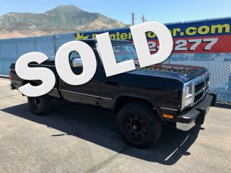 1993 Dodge D150 & W150 POWER WAGON Nephi, Utah