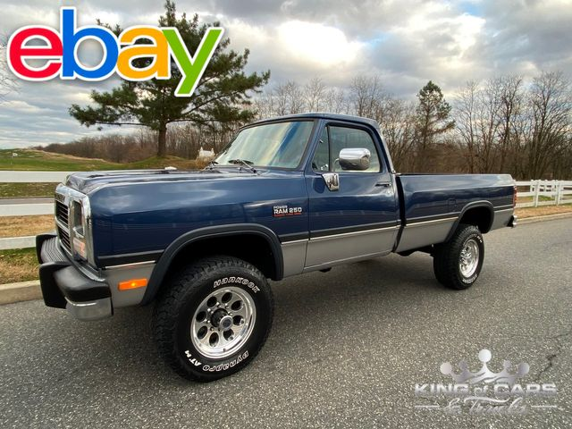 1993 Dodge Ram W250 Le 5.9L CUMMINS DIESEL 74K ACTUAL MILES 4X4 RARE in Woodbury, New Jersey 08096