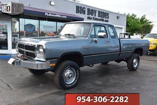 1993 Dodge W250 Ram 2500 in FORT LAUDERDALE, FL 33309