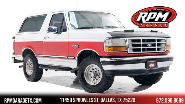 1993 Ford Bronco XLT 4X4