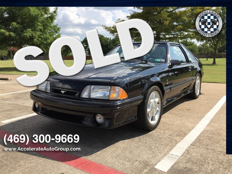 1993 Ford SVT Mustang Cobra LOW MILES! in Rowlett Texas