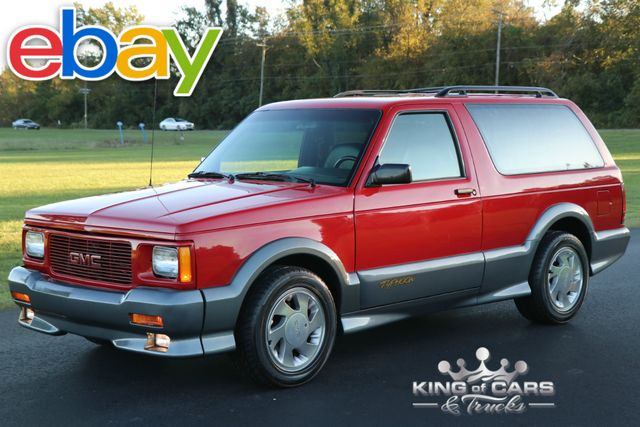 1993 Gmc Typhoon Awd Turbo 45K ACTUAL MILES 4.3L TURBO ULTRA RARE