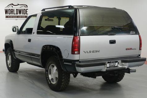 1993 GMC YUKON BLAZER. ONE OWNER! 81K ORIGINAL MILES! 4x4.     Denver, CO   Worldwide Vintage Autos in Denver, CO