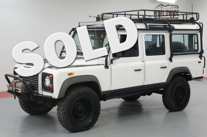 1993 Land Rover DEFENDER 110 RARE! NAS 110! LOW MILES! HIGHLY OPTIONED.  | Denver, CO | Worldwide Vintage Autos