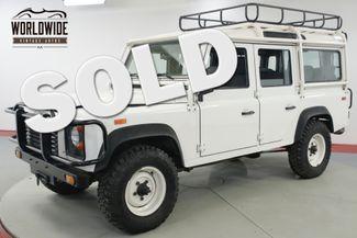 1993 Land Rover DEFENDER 110. NAS. 1 OF 500 CA/NV TRUCK 31K ORIGINAL MILES  | Denver, CO | Worldwide Vintage Autos in Denver CO