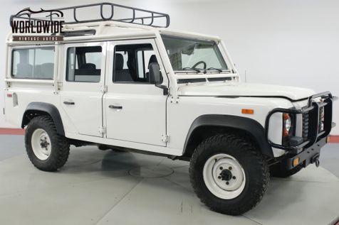 1993 Land Rover DEFENDER 110 NAS 390 OF 500 CA/NV TRUCK 31K ORIGINAL MILES  | Denver, CO | Worldwide Vintage Autos in Denver, CO