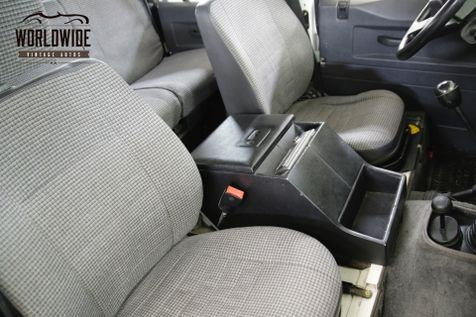 1993 Land Rover DEFENDER 110. NAS. 1 OF 500 CA/NV TRUCK 31K ORIGINAL MILES  | Denver, CO | Worldwide Vintage Autos in Denver, CO
